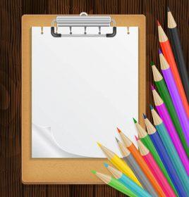 وکتور لایه باز طرح کلاس نقاشی