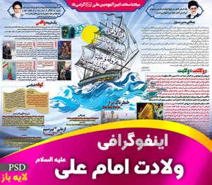 اینفوگرافی ولادت امام علی