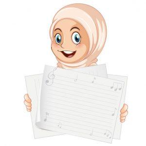 وکتور بنر آموزشی طرح حجاب